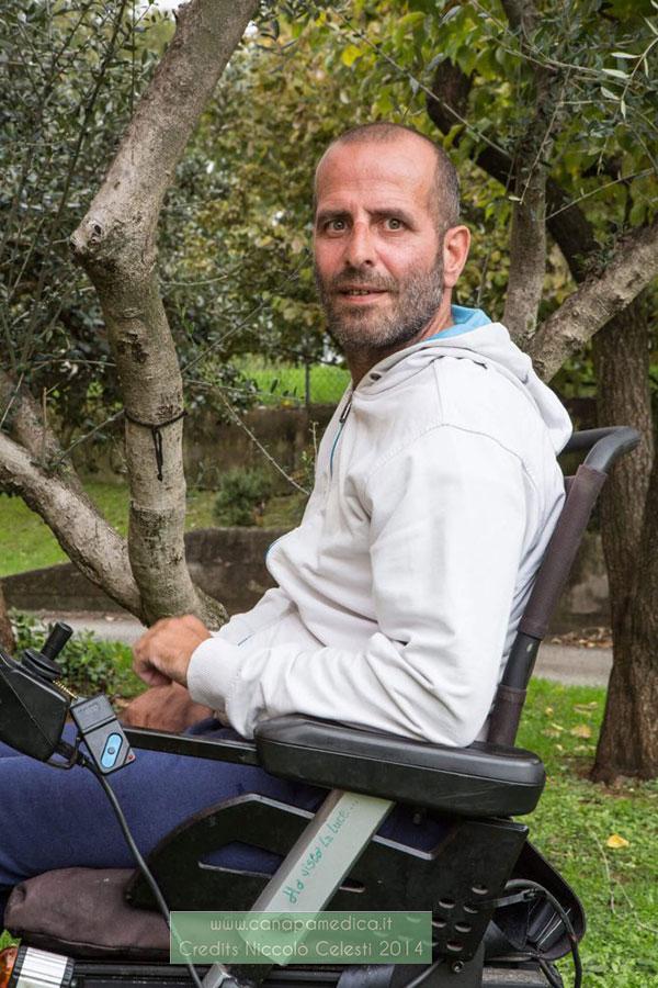 Daniele Giannetti curare la sclerosi multipla con la marijuana